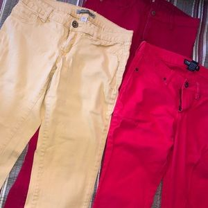Jeans - COLORED SKINNY JEANS BUNDLE